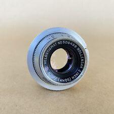 Velostigmat Wollensak 2 Inch (50mm) F/2.8 No 506499 Old Exakta Mount Lens - NICE