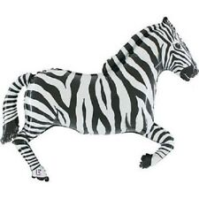 "XL 43"" Zebra Super Shape Mylar Foil Balloon Party Decoration"