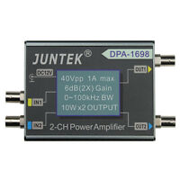 JUNTEK DPA-1698 40Vpp 2CH DC Power Amplifier For DDS Function signal Generator
