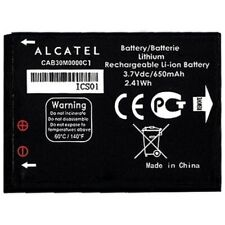 Alcatel Batteria Litio Originale CAB30M0000C1 per OT-255 OT-600A OT-383A OT-206
