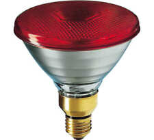 Branded 80W ES/E27 Par38 Red Halogen Flood reflector