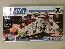 *BRAND NEW* LEGO Star Wars The Clone Wars Republic Attack Gunship 7676