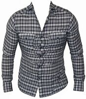New G-Star Raw Mens Casual Shirt RCT Western Wide Spread in Indigo Colour Size S