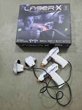 Laser X Revolution 4 Blaster Laser Tag Toy Game 4 Players Set Combat Pack Gun