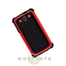 Samsung i9300 Galaxy S3 Hybrid Case Black/Red Case Cover Shell Protector Guard