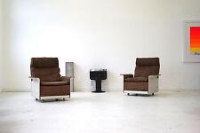 Dieter Rams Vitsoe 2 Sessel 2er Sofa  RZ 62 620 Lounge Chair Leder SDR