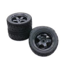 4Pcs 1/10 Rc On-Road Tires 5 spoke Rim Wheel Fit Buggy Car For Hsp Traxxas Hpi