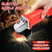 240V Electric Angle Grinder 880W Corded Heavy Duty Grinding 100mm/105mm