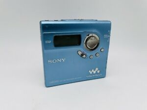 MD1358 Excellent  SONY NET MD WALKMAN MZ-N920 TYPE-S  Blue