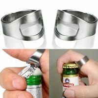 l'acier inoxydable doigt ring design ces bocaux lid ouvre - bouteilles de bière