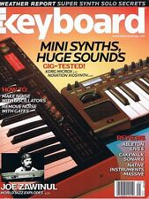 2007 ABLETON LIVE 6  Korg Microx & Novation Xiosynth Keyboard Reviews Magazine