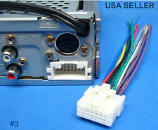 PANASONIC RADIO WIRE HARNESS STEREO POWER PLUG 4 CAR AUDIO CD TAPE CASSET PLAYER