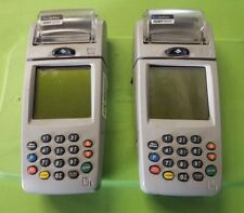 pair of Verifone Nurit 8000 Mobile Wireless  Terminal Merchant Credit Card AS IS