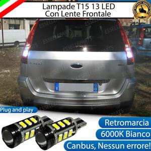 LAMPADE RETROMARCIA 13 LED T15 W16W CANBUS PER FORD FUSION DAL 10/2005+ 6000K