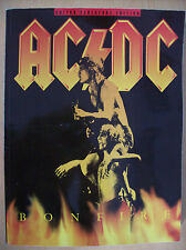 AC DC Bonfire Guitar Tablature Edition Paperback New