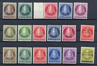 Berlin 75-79, 82-86, 101-05 die 3 Glockensätze postfrisch (at25)
