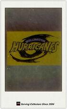 1996 NZ NPC Cards Superstar Of Union Super 12 Club Logo S4 Wellington Hurricanes