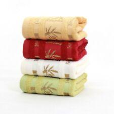 4pcs/set  34*76cm jacquard bamboo towel skin-friendly bamboo fiber face towel