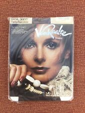Vintage Van Raalte Sheer Pantyhose/Tights Coffee, BNWT, US Queen Short (Medium)