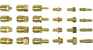 Druckluft Kupplung Stecknippel IG AG 1/4 3/8 1/2 Schnellkupplung Adapter Stecker