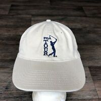 PGA TOUR Hat Baseball Cap Adjustable Strapback Tan Golf The Game