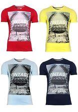 s.Oliver Kurzarm Herren-T-Shirts aus Baumwolle