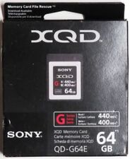 Sony Professional XQD G Series 64GB Memory Card (QDG64E/J)