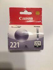 Canon Black Ink Cartridge 221 CLI-221BK NEW