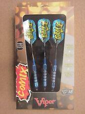 Viper Comix Darts Blue 18g Soft Tip Darts 20-2201-18 20220118 w/ FREE Shipping
