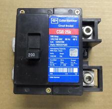 Cutler Hammer CSR 25k 2 pole 200 amp 120/240v CSR2200 Circuit Breaker