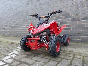 Miniquad Quad Kinder KXD ATV 6A 4 Zoll 49ccm 2 Takt Pocketquad Kinderquad Rot