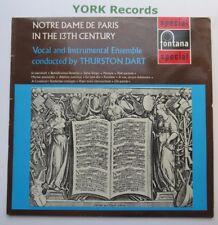 SFL 14133 - NOTRE DAME DE PARIS IN THE 13TH CENTURY Thurston Dart - Ex LP Record