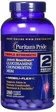 Puritan's Pride Triple Strength Glucosamine Chondroitin and MSM Joint 180 Caplet