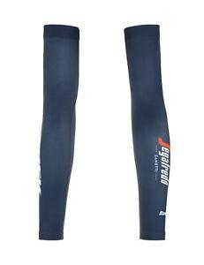 Santini Trek Segafredo Arm Warmers - Size XL/XXL - Made in Italy