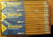 Vintage American Eberhard Faber Real Wood Pencils Deadstock Lot Of 72