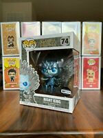 Funko Pop Metallic Night King On Throne HBO Shop Exclusive Game Of Thrones Wight