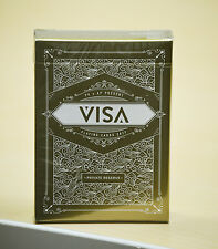 Visa Private Reserve Gold Playing Cards Deck Brand New Sealed
