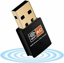 More details for 600 mbps usb wifi dongle adapter dual band 2.4ghz/5ghz 802.11ac wi-fi wireles