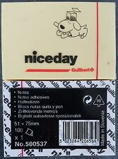 niceday Office Notes Notizzettel Haftnotizen Post-it 2x100 Bl. 51x75mm *NEU&OVP*