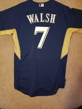 Rare Milwaukee Brewers Game Worn Issued Colin Walsh Jersey MLB AUTHENTICATED 44