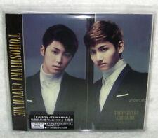TOHOSHINKI Catch Me If you wanna 2013 Taiwan Ltd CD+DVD+Card (DBSK TVXQ)