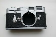 L-Seal Intact 1959 Chrome Leica Leitz M3 SS 35mm Rangefinder User Working