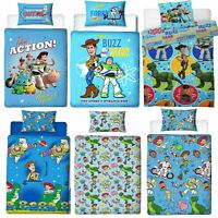 REVERSIBLE DISNEY Toy Story Single Duvet Cover Bedding Set Girl Boys Kid Bed