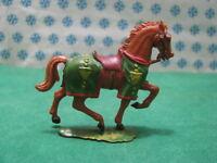 Rare Vintage 2  -  CAVALLO / HORSE 40 mm. Original Hausser Elastolin 1969-1979