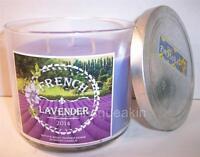 Bath & Body Works 14.5 oz  3 wick  Candle  French Lavender