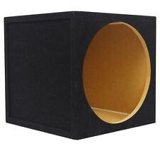 "Rockville RSE12 Single 12"" 1.1 cu.ft. 5/8"" MDF Sealed Car Sub Enclosure Box"