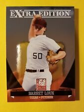 BARRET LOUX - RC ROOKIE #62 TEXAS RANGERS - 2011 DONRUSS ELITE EXTRA EDITION