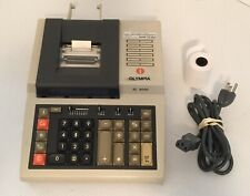 OLYMPIA EC 6000 Vintage Calculator Printer, Tested & Working