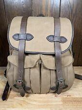 Filson Vintage Rucksack Backpack 262 -  Talon Zippers!