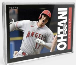 2021 TOPPS TBT 1985 FOOTBALL COMPLETE SET 29 3-CARD SCHWARBER OHTANI & RUTH